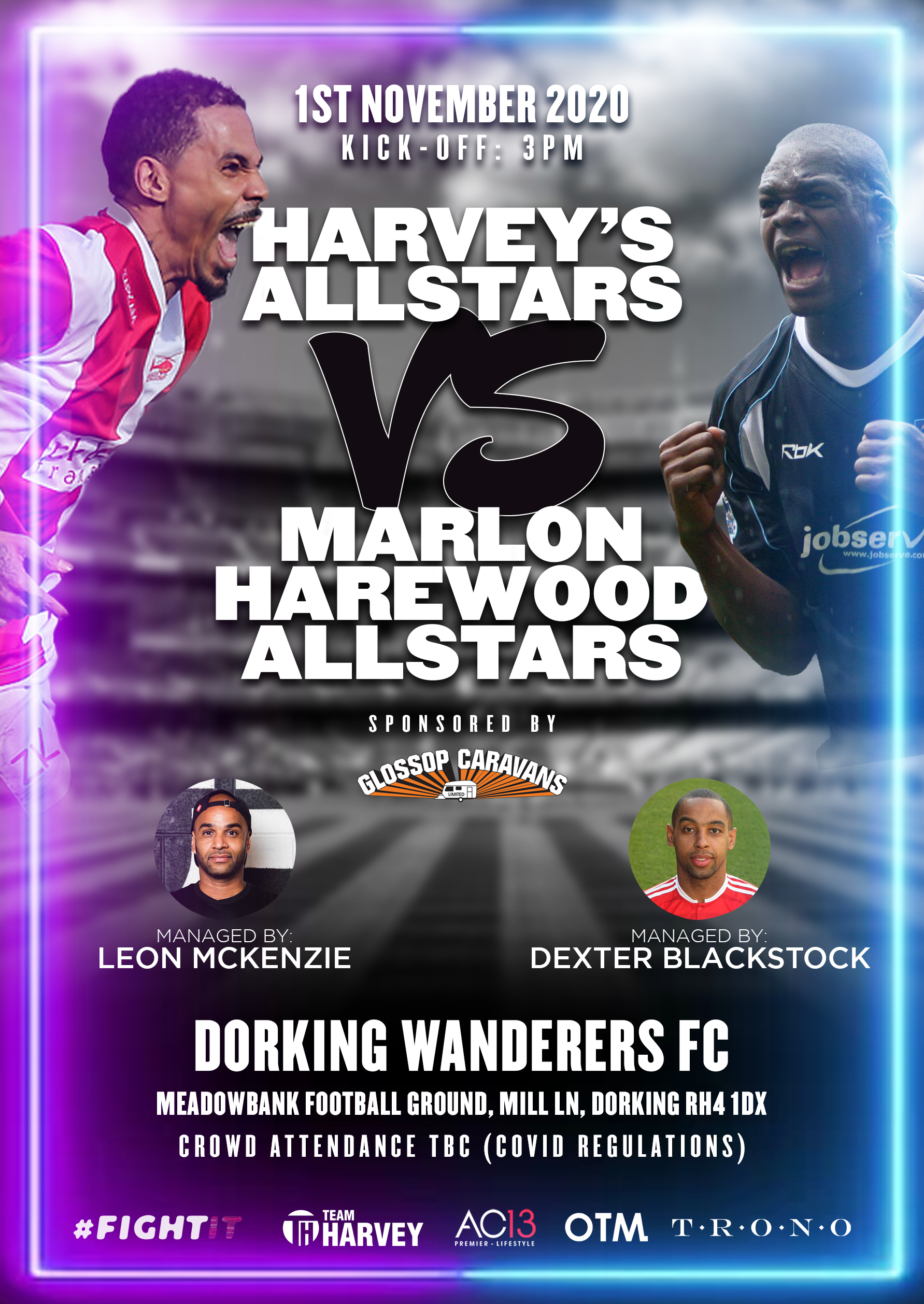 MC Harvey Vs Marlon Harewood
