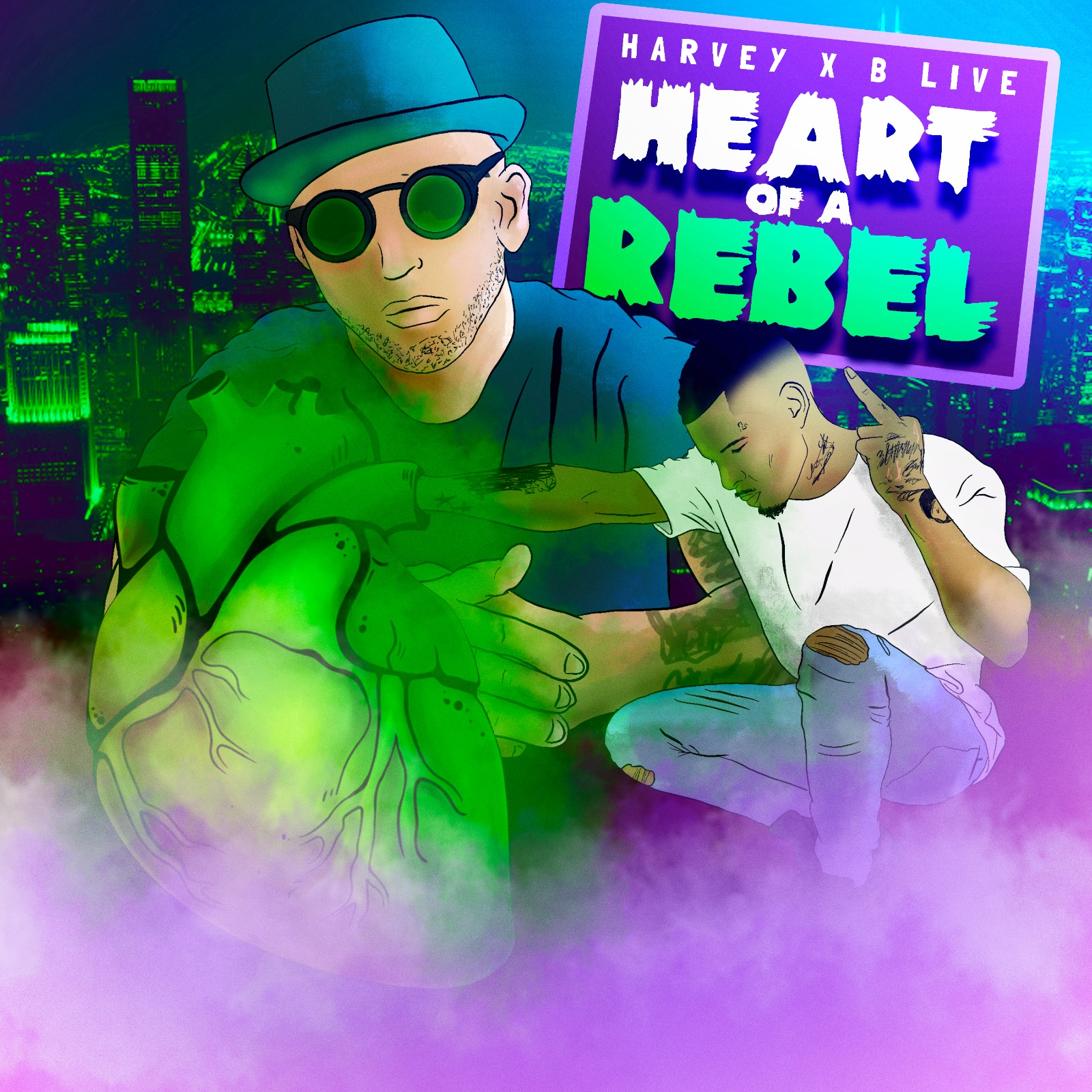 Harvey x B Live – Heart Of A Rebel